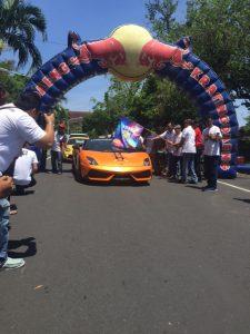 Kejurnas Time Rally 2016 putaran kelima yang berlangsung di Karangasem, Bali pada 12-13 November 2016 diikuti sebanyak 37 peserta.